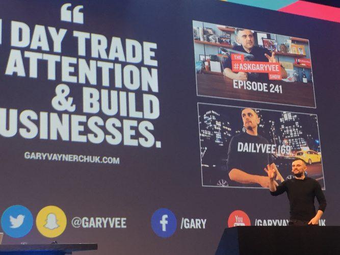 Unternehmer und Youtuber Gary Vee