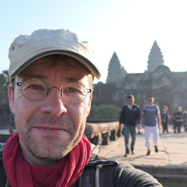 Nils Römeling 2019 auf Reisen in Angkor Wat !